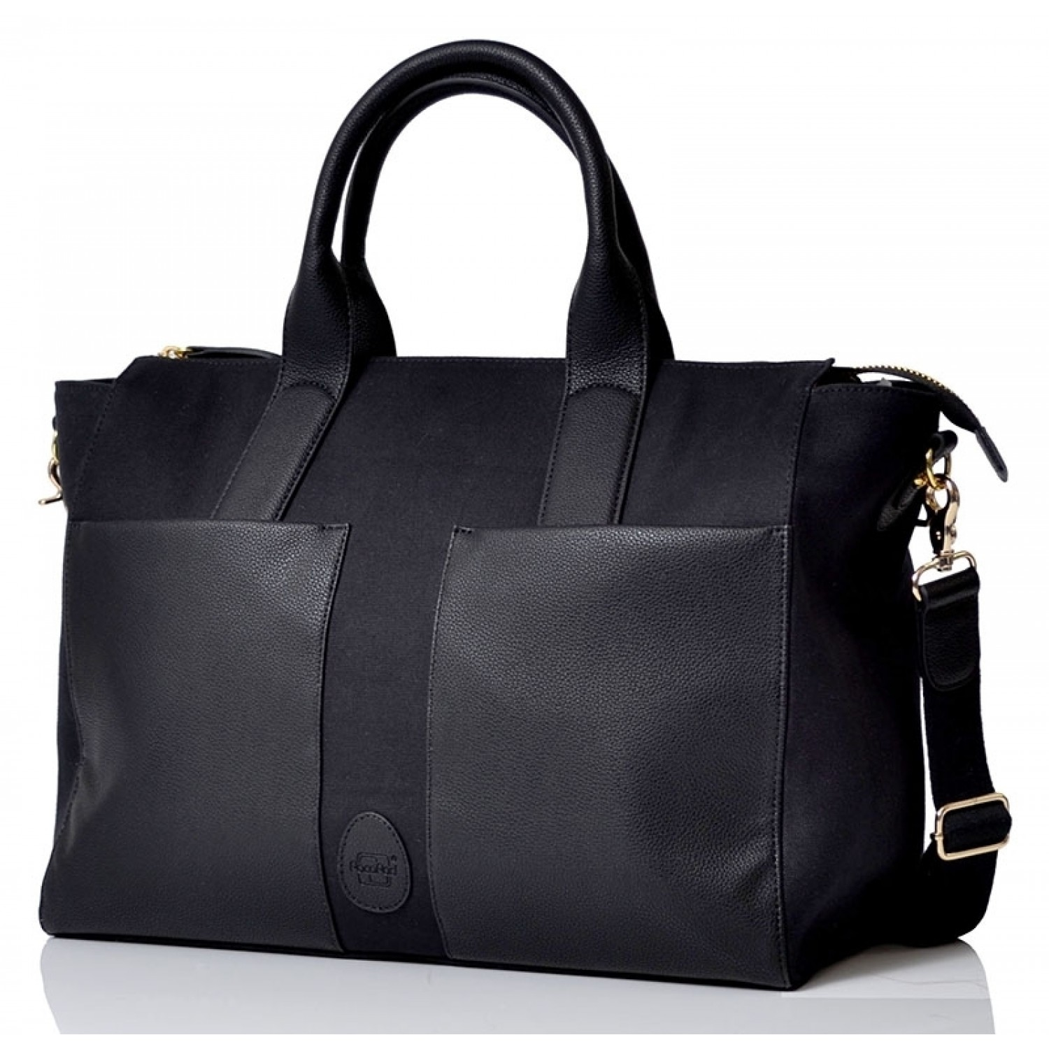 PacaPod Croyde black Eco Changing Bag & stylish Handbag