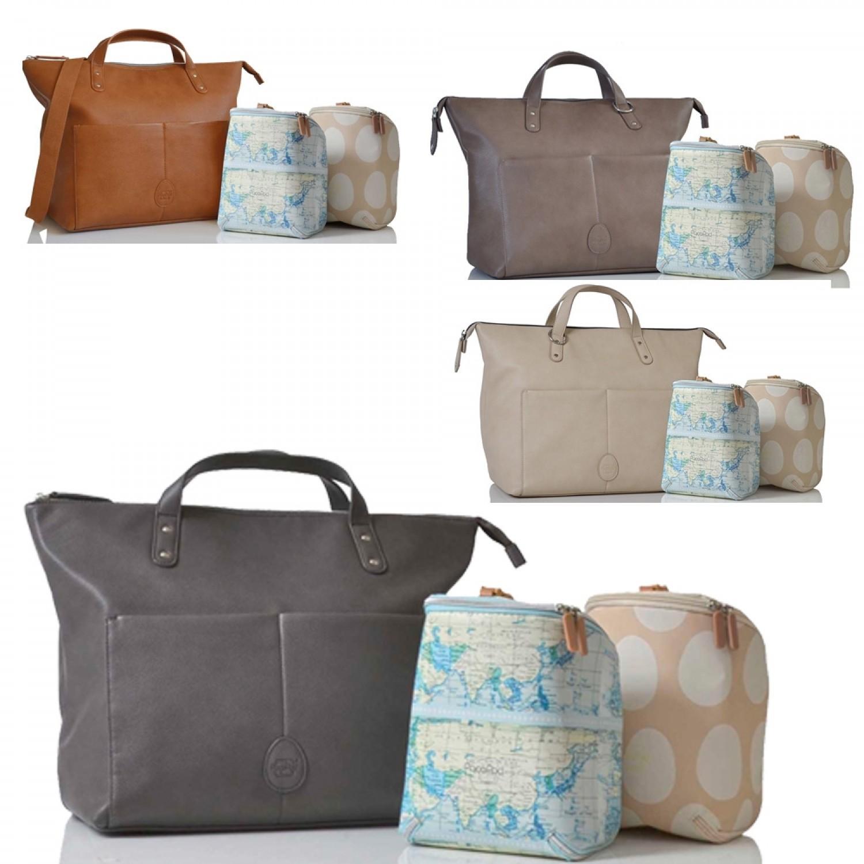 6aacfda0b407f PacaPod Saunton vegan Leather Changing Bag & Backpack | Greenpicks