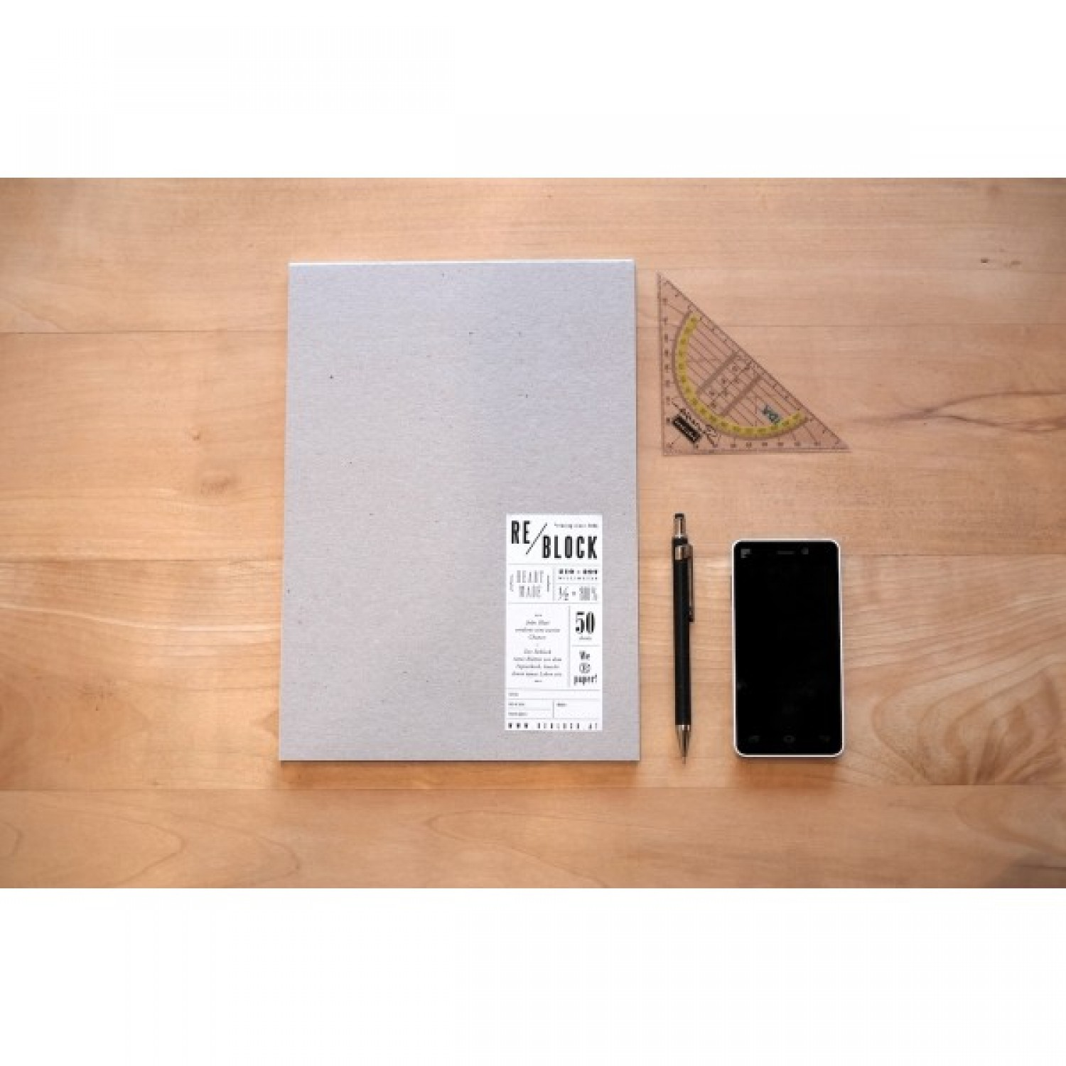 Upcycling Notepad | Reblock