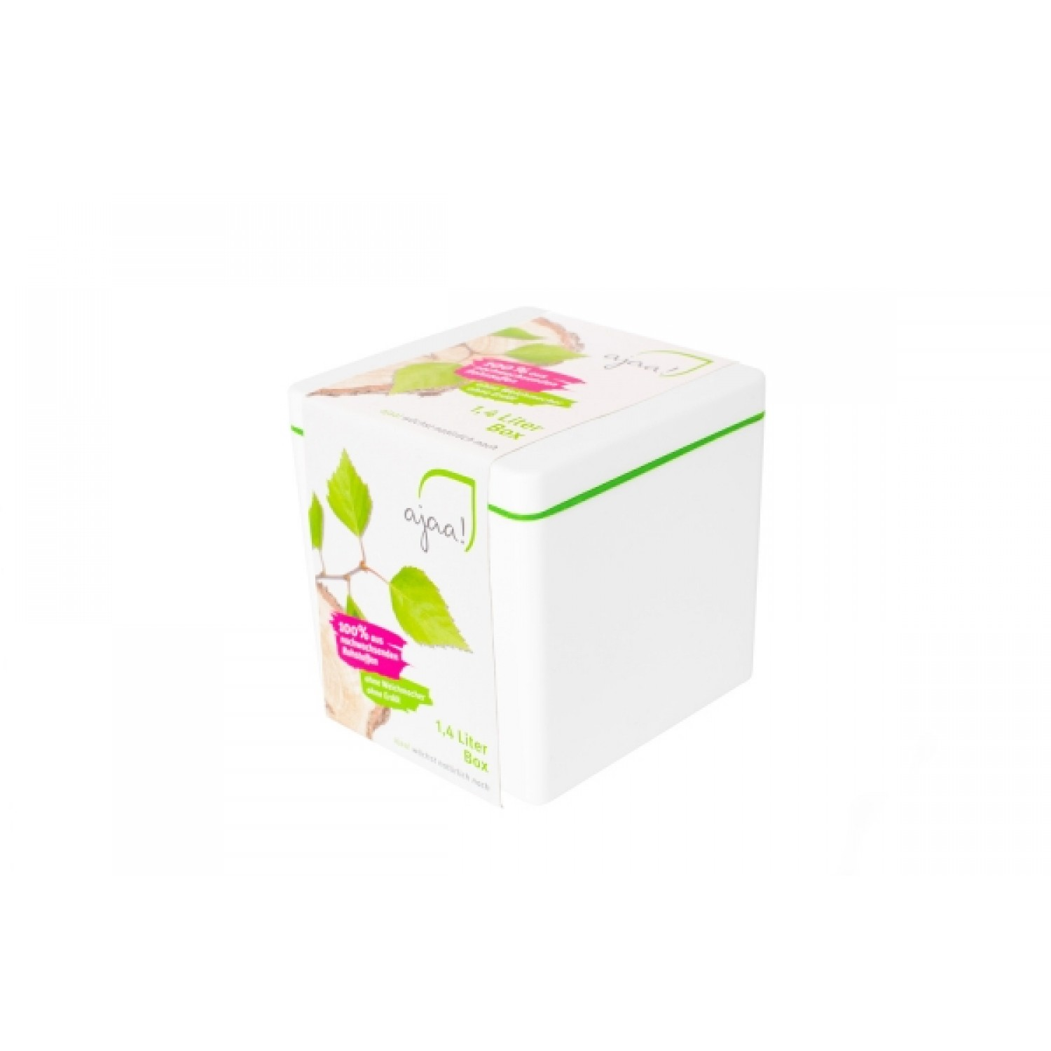 Square Storage Box 1.4 l by ajaa!