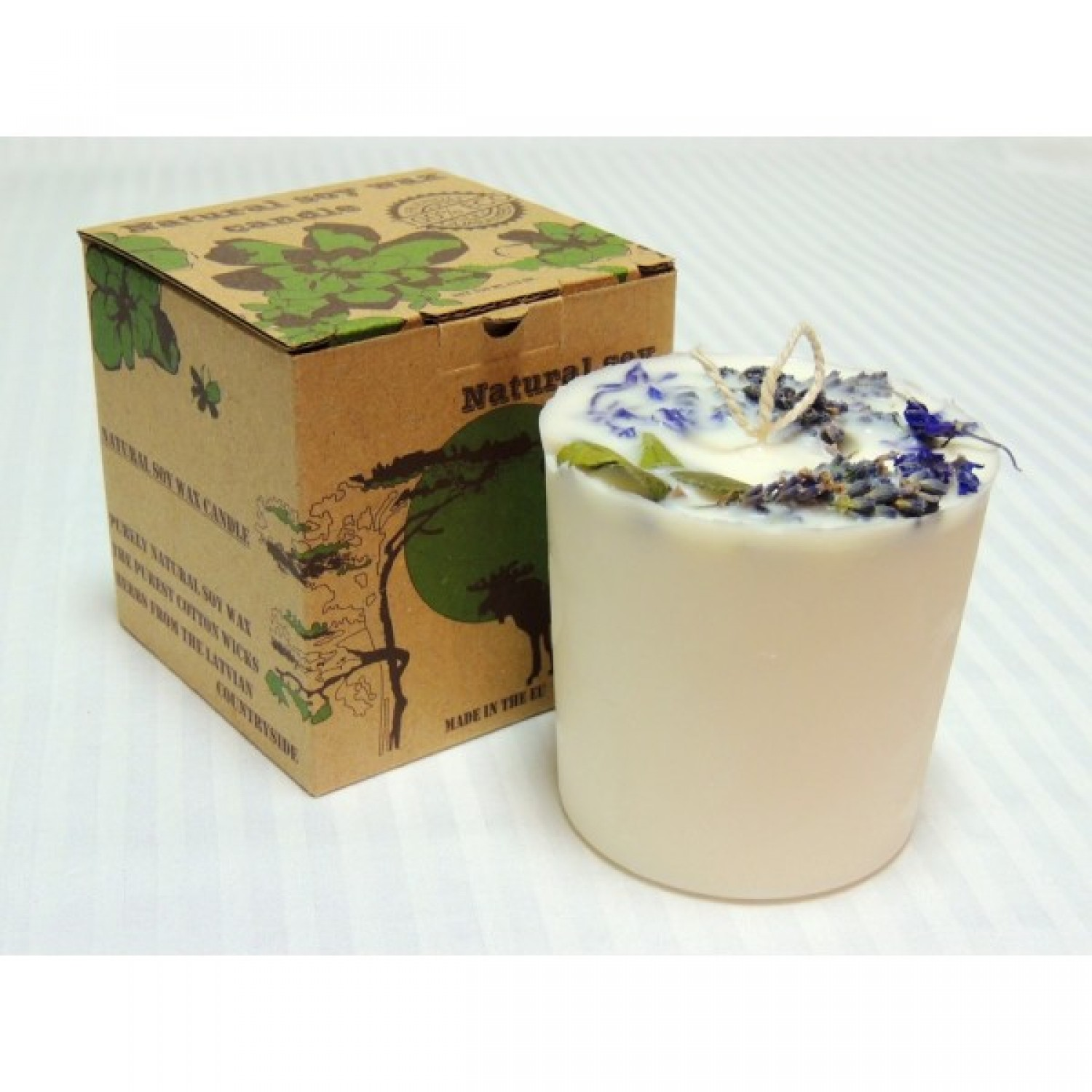 Eco soy wax candle Lavender | Candle.lv