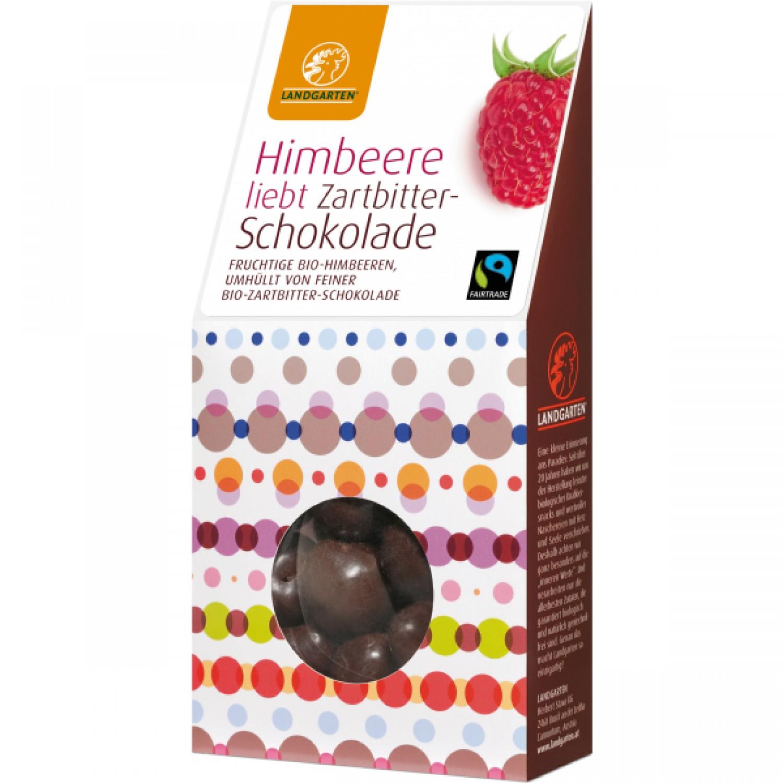 Raspberries love Dark Chocolate | Landgarten