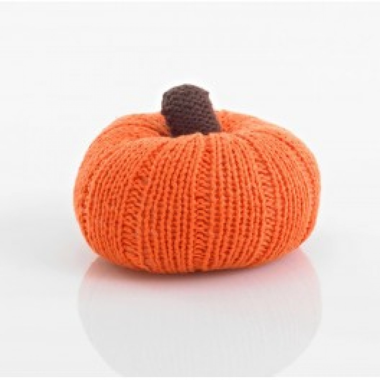 Pebble Vegetable Rattle – Pumpkin