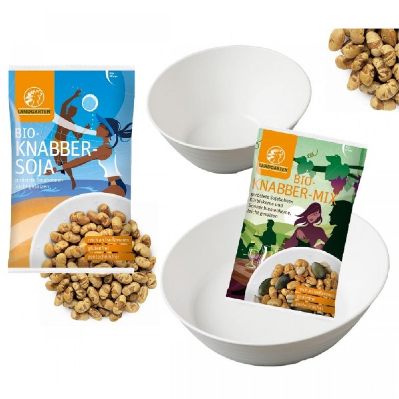 Organic Nibbles Mix Landgarten + 2 bowls