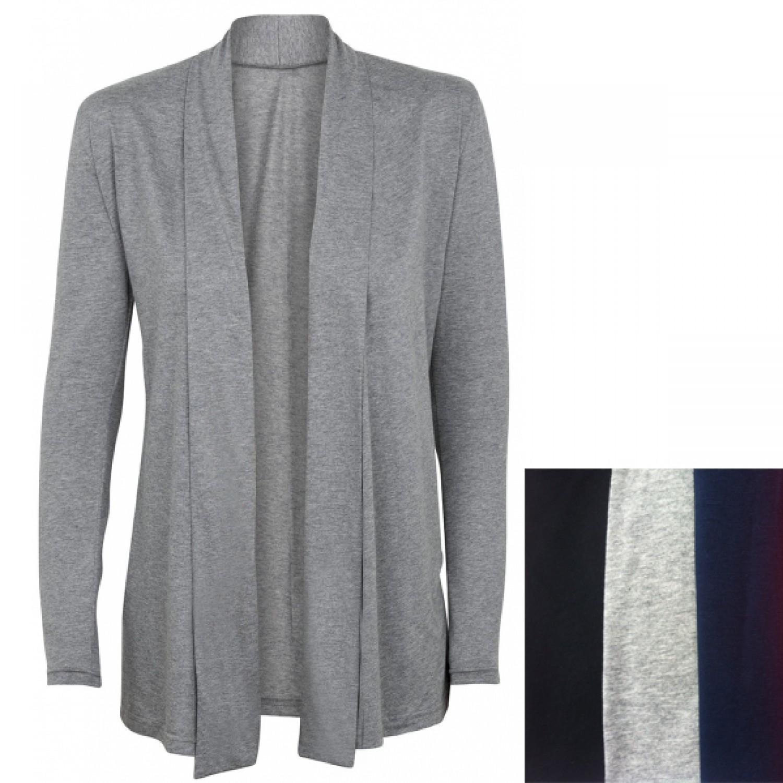 Cardigan with Shawl Collar Organic Jersey