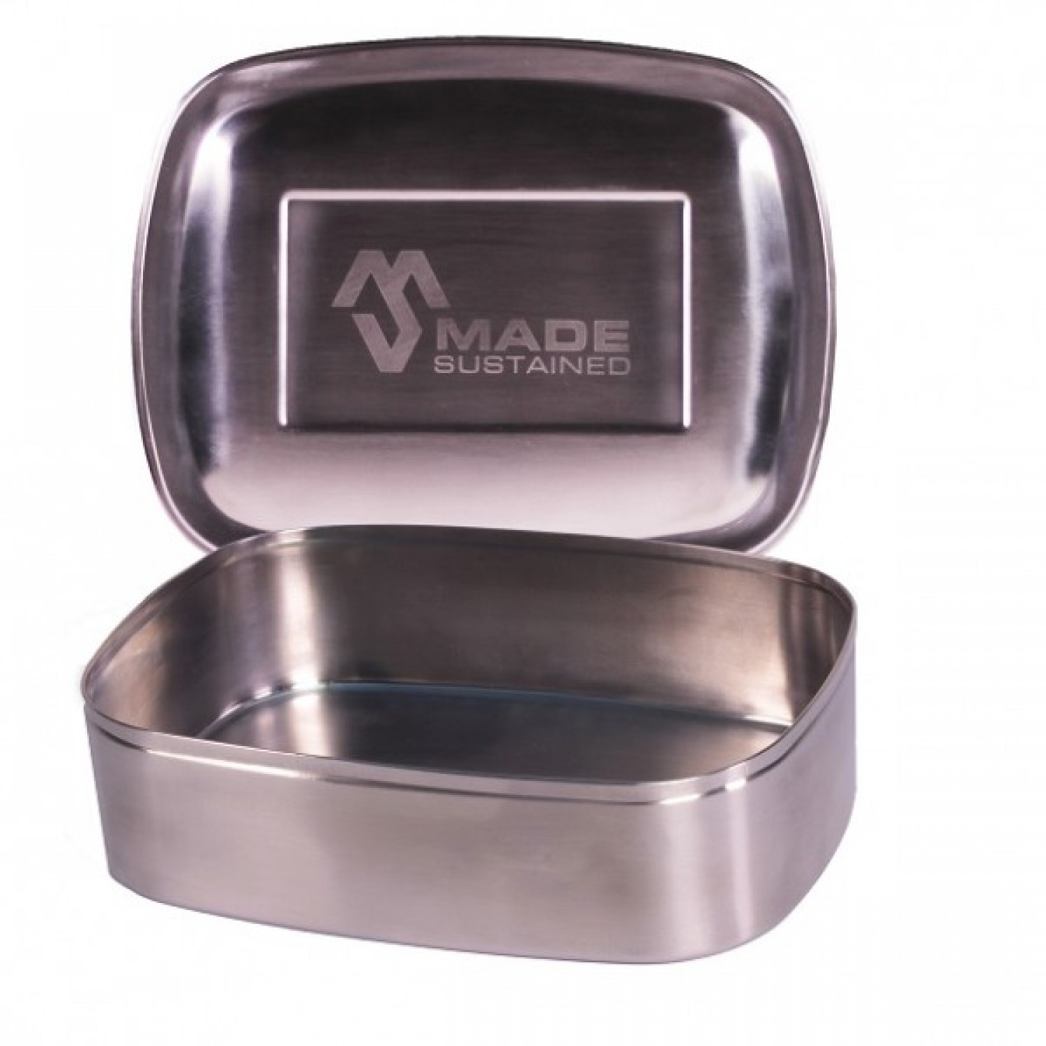 Rectangular Stainless Steel Lunchbox by Made Sustained