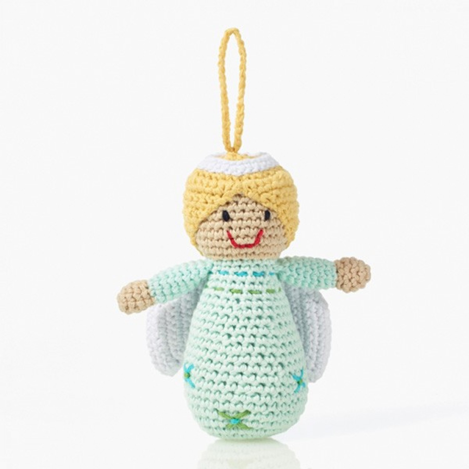 Pebble Xmas Decoration – Angel