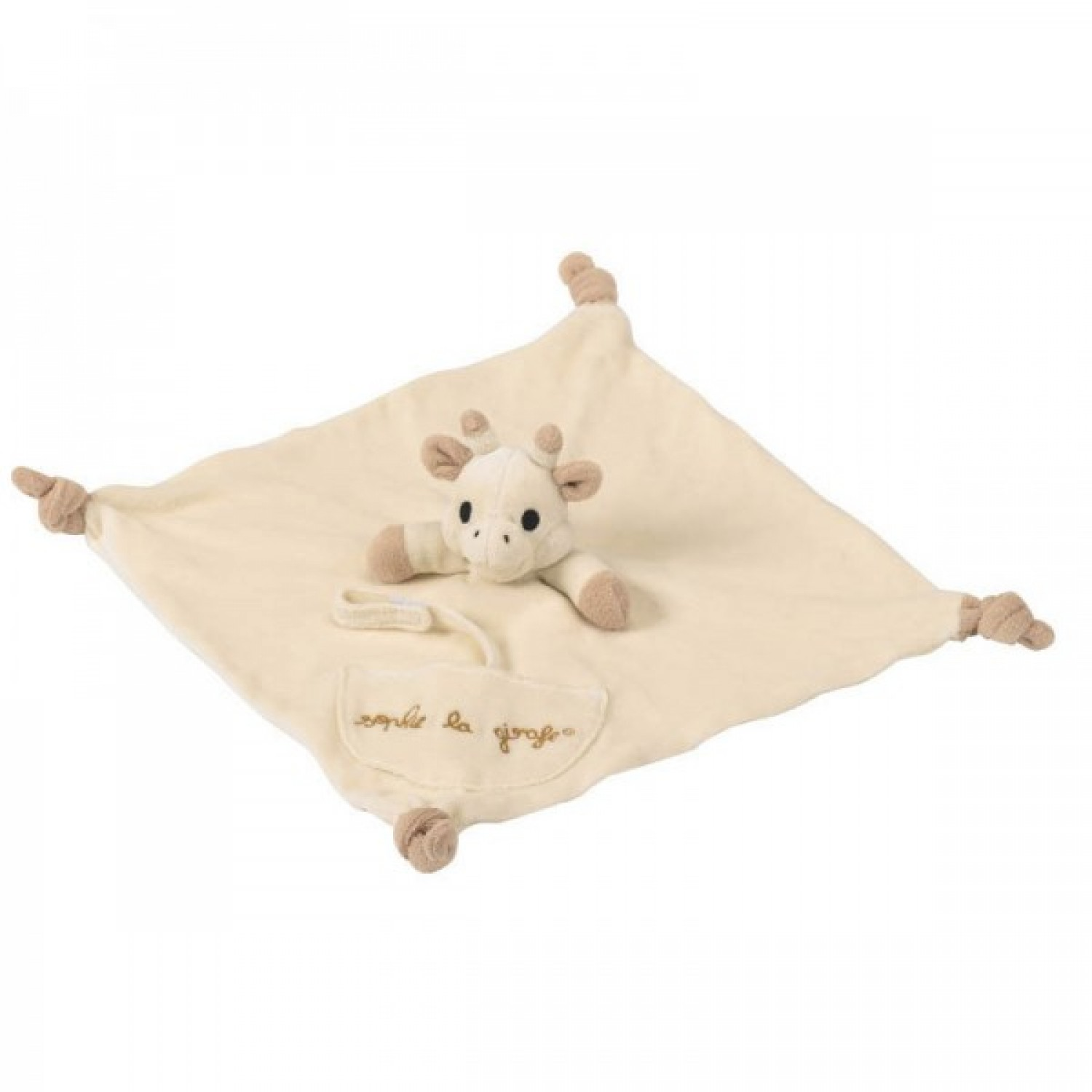 So'Pure Comforter with Dummy Holder | Sophie la girafe