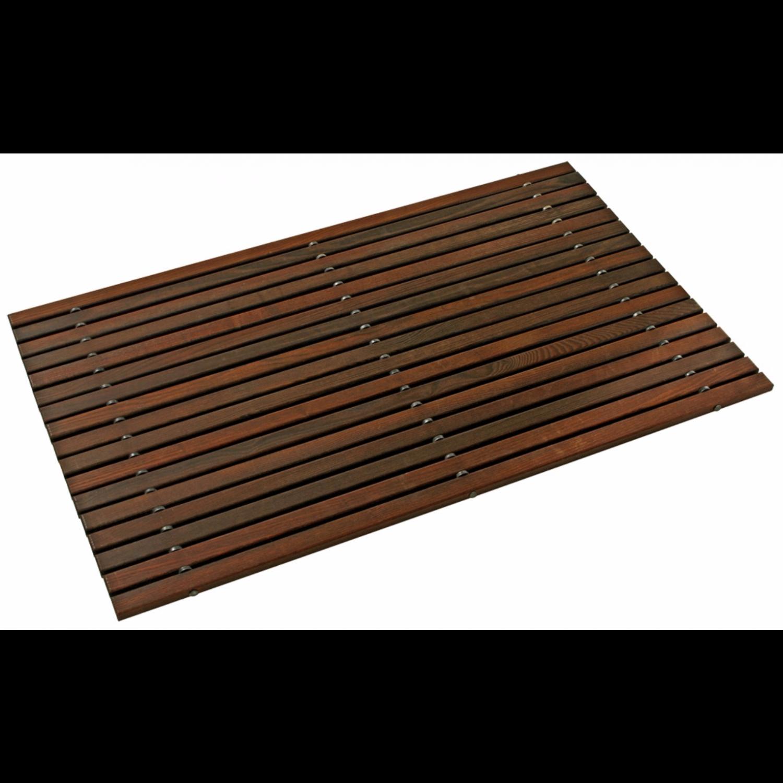 Badvorlage - Holzteppich Thermoholz geölt