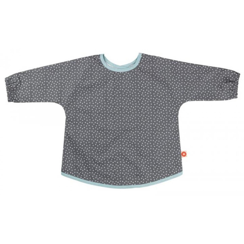 Ärmellätzchen Grau aus Bio-Baumwolle