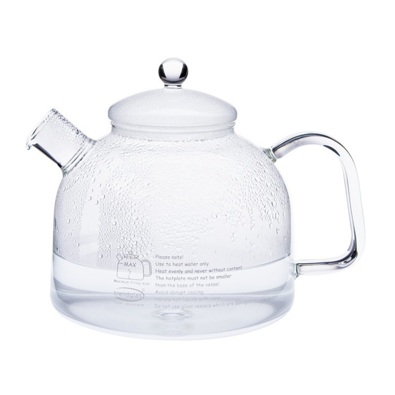 Water Kettle with Glass Lid 1.75 L
