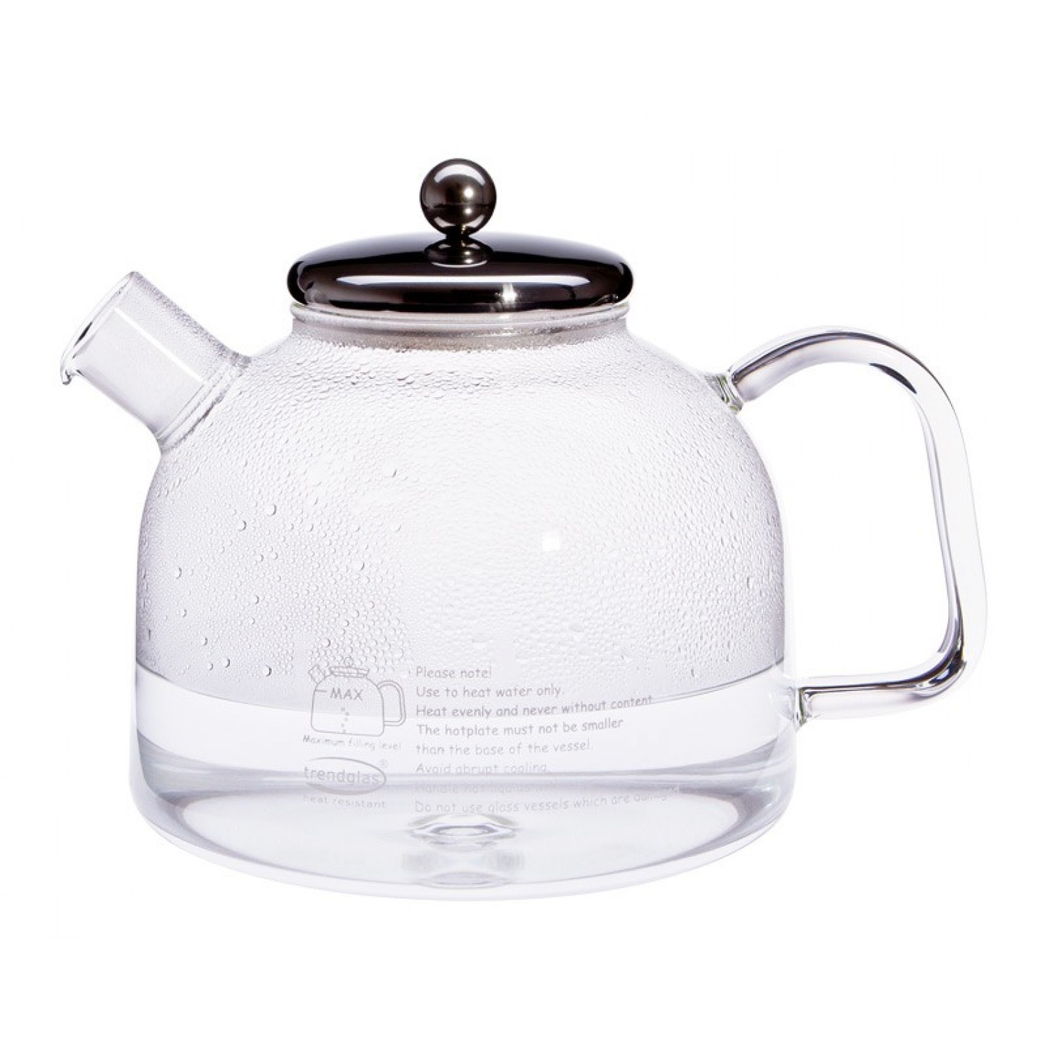 Water Kettle S with Stainless Steel Lid