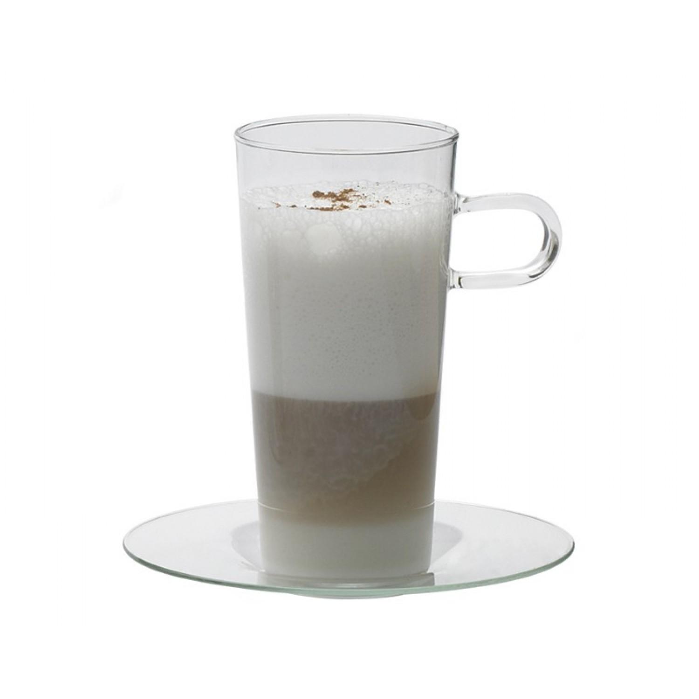 Kaffeeglas mit Glasunterteller COSTA III
