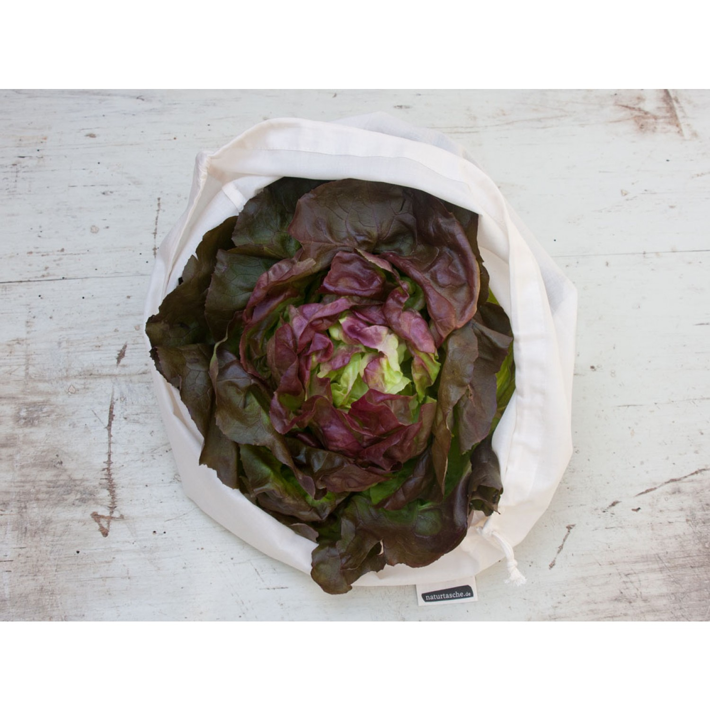 Öko Salatbeutel aus Bio-Baumwolle | Naturtasche