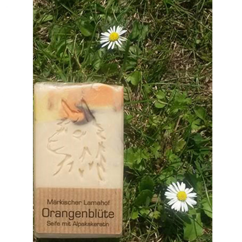 Alpaka Keratin Orangenblüte – Naturseife | laRiSavon