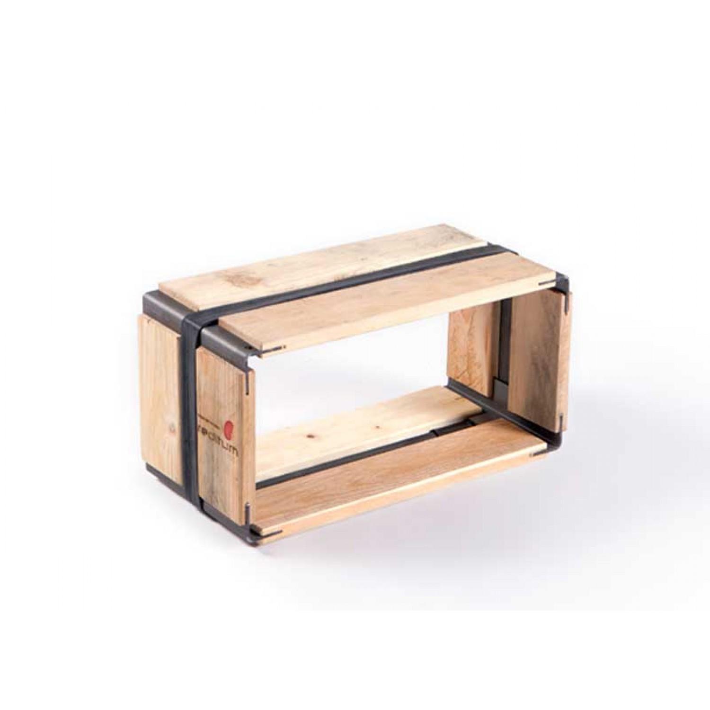 Upcycled pallets shelf MOVEO. VIA 20.40 | reditum