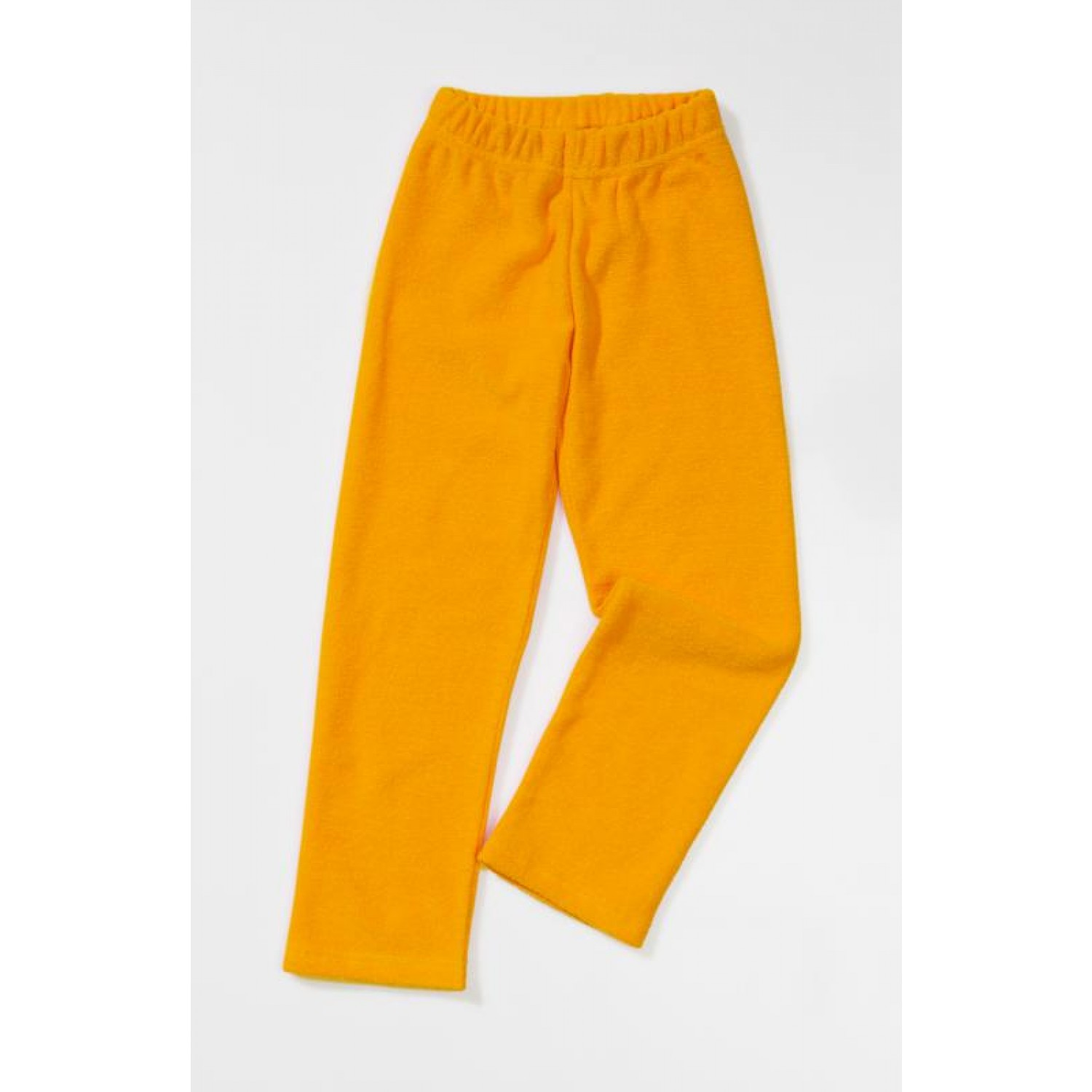 Trousers of terry cloth made of organic cotton