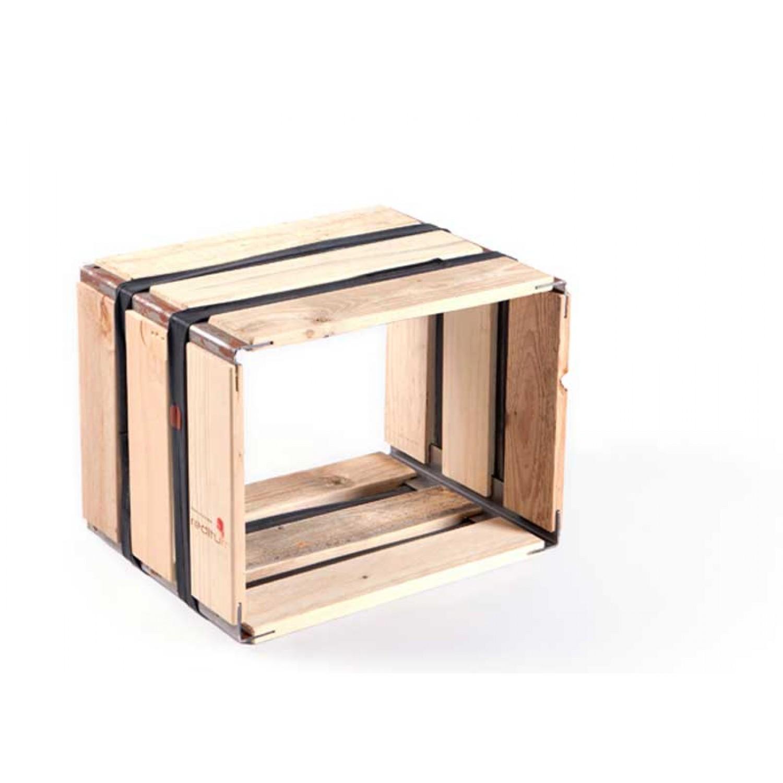 Upcycled pallets shelf MOVEO. VIA 30.40 | reditum