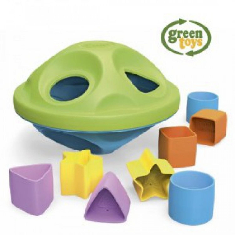 Schiebetier Schildkröte von Green Toys
