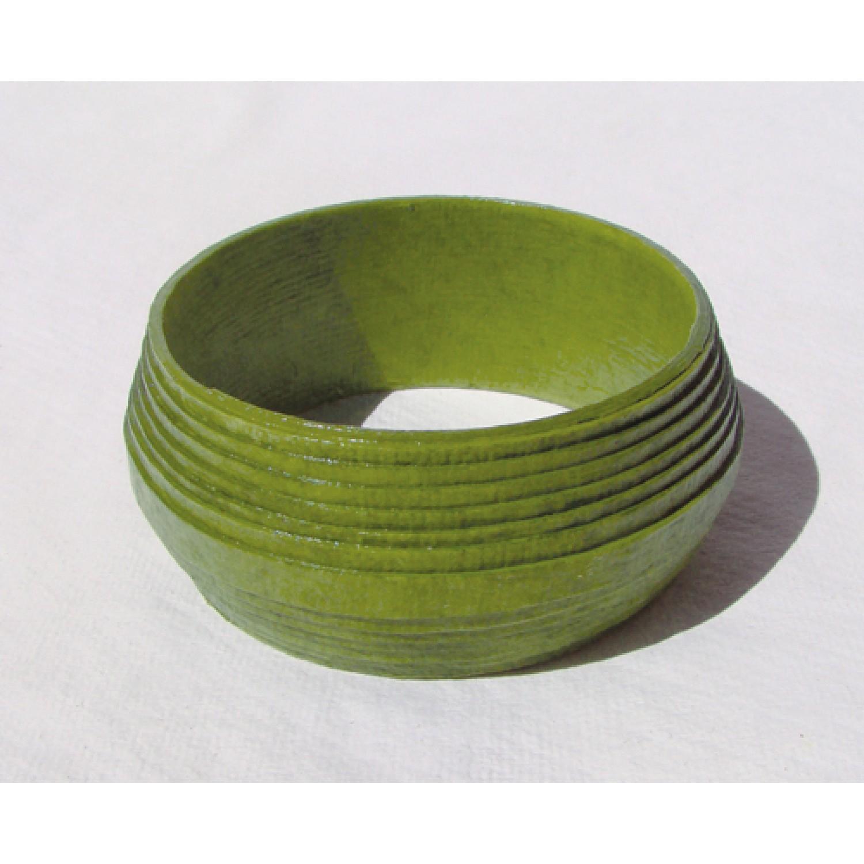 Eco Paper Bracelet Green | Sundara Paper Art