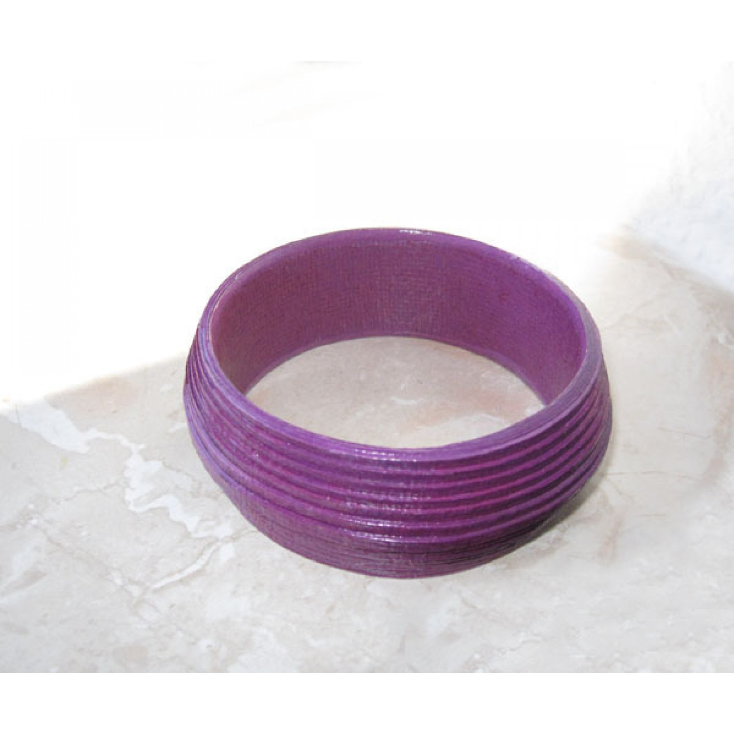 Elegant Eco Bracelet in Purple | Sundara Paper Art