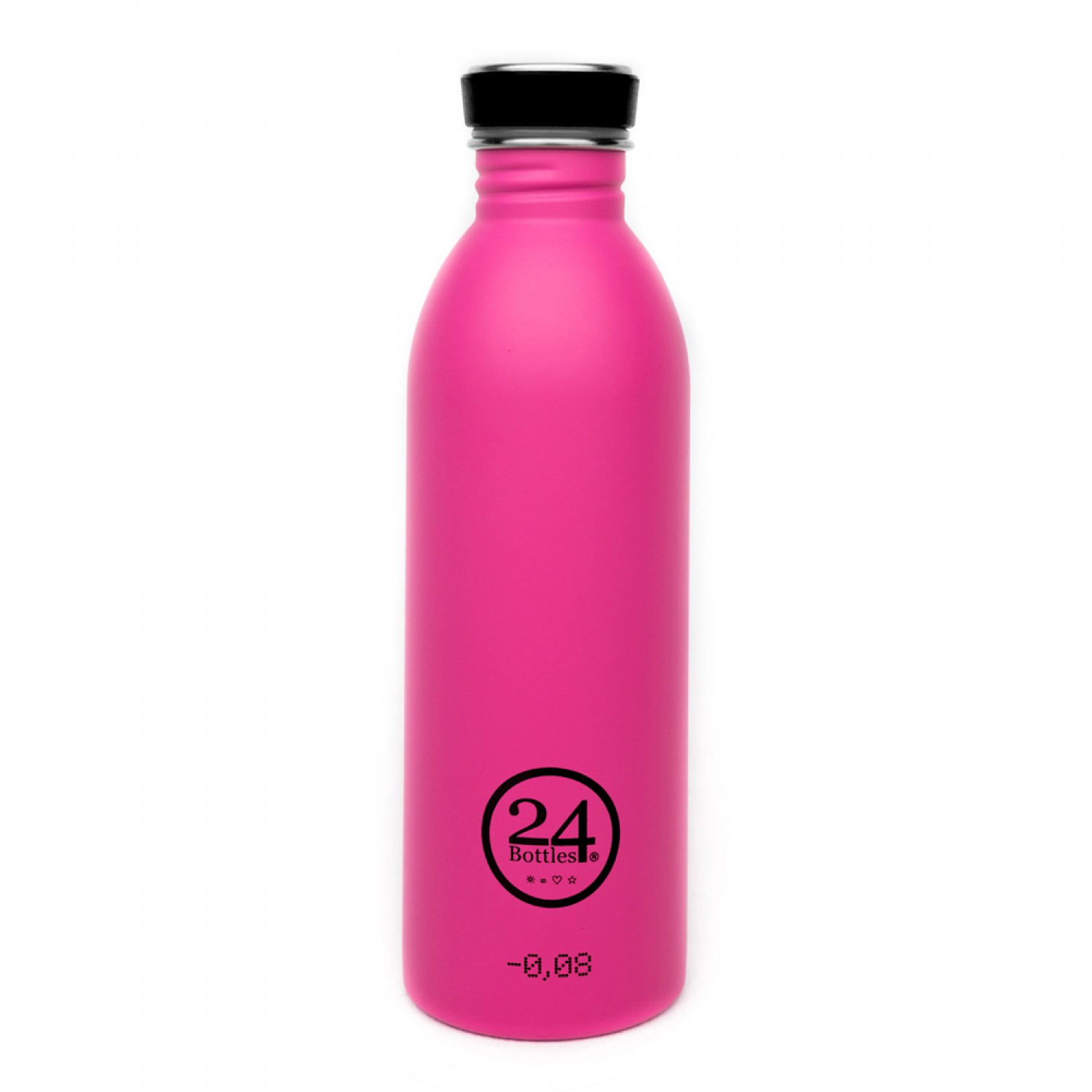 Stainless Steel Drinking Bottle 0.5L passion pink | 24Bottles