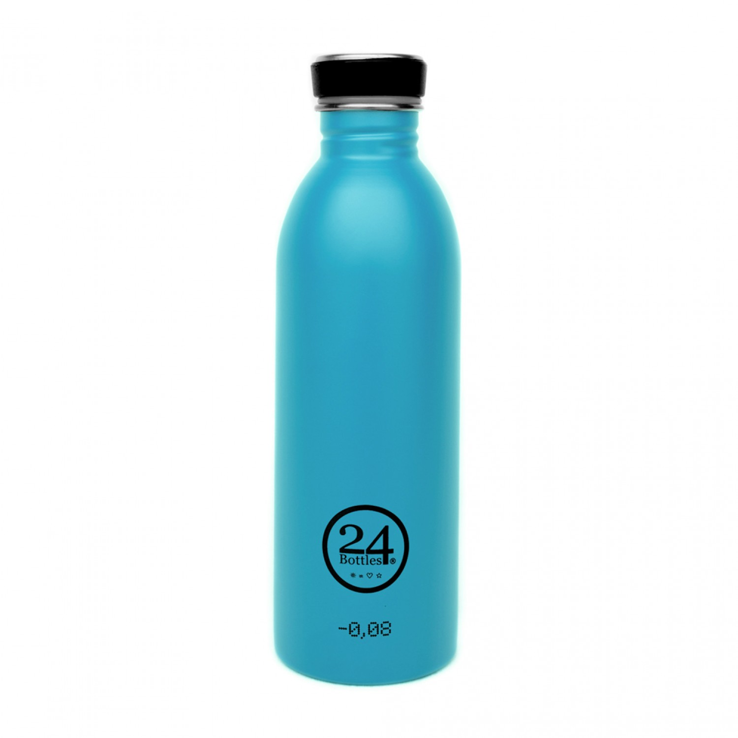 Stainless Steel Drinking Bottle 0.5L lagoon blue | 24Bottles