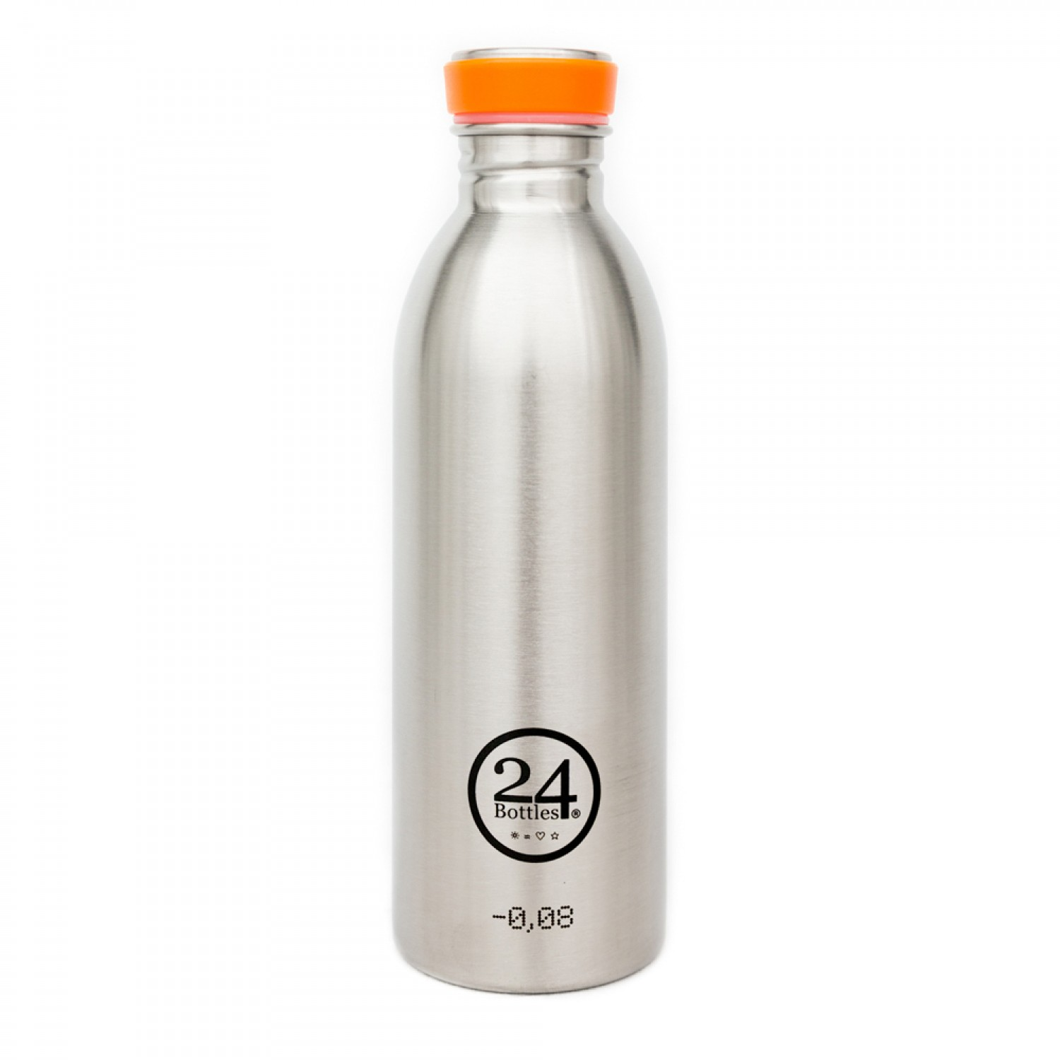 Stainless Steel Drinking Bottle 0.5L steel | 24Bottles