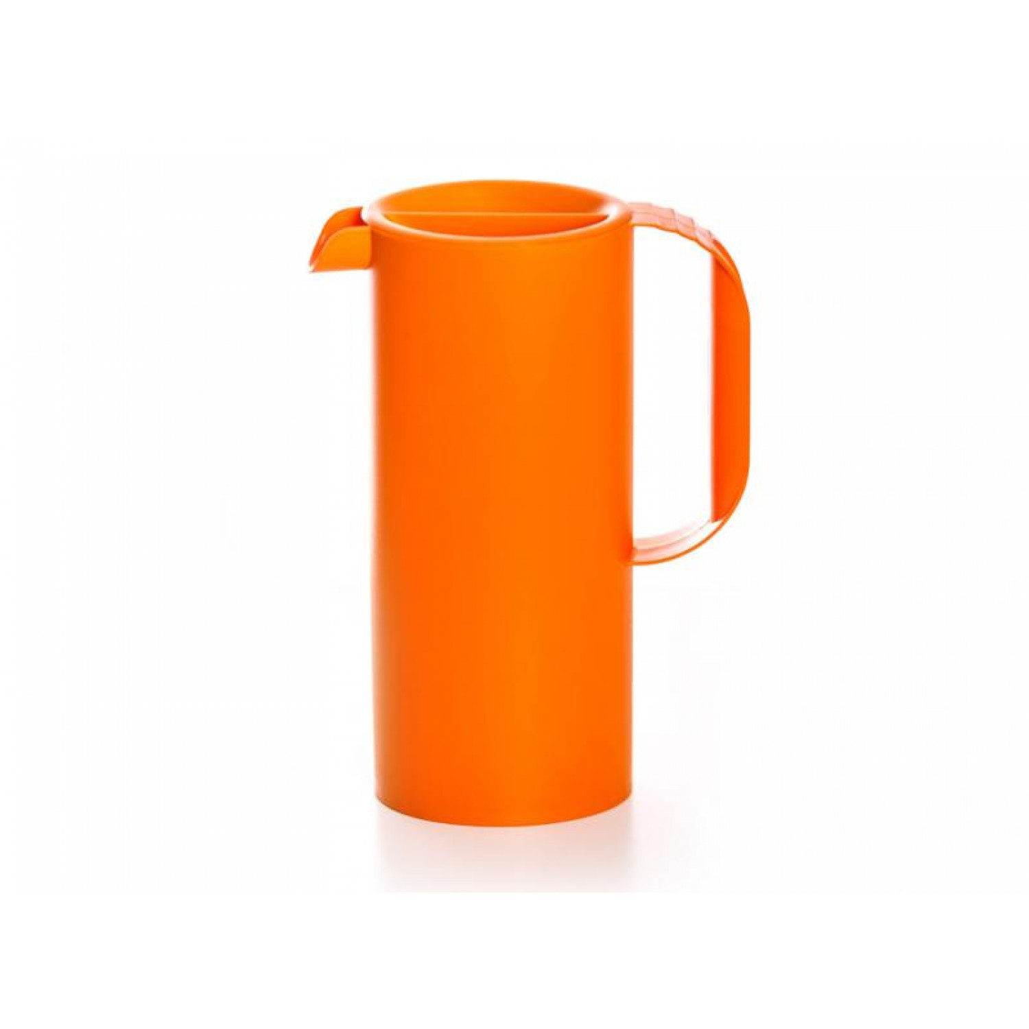 Elegant design juice jug made from bioplastics in orange