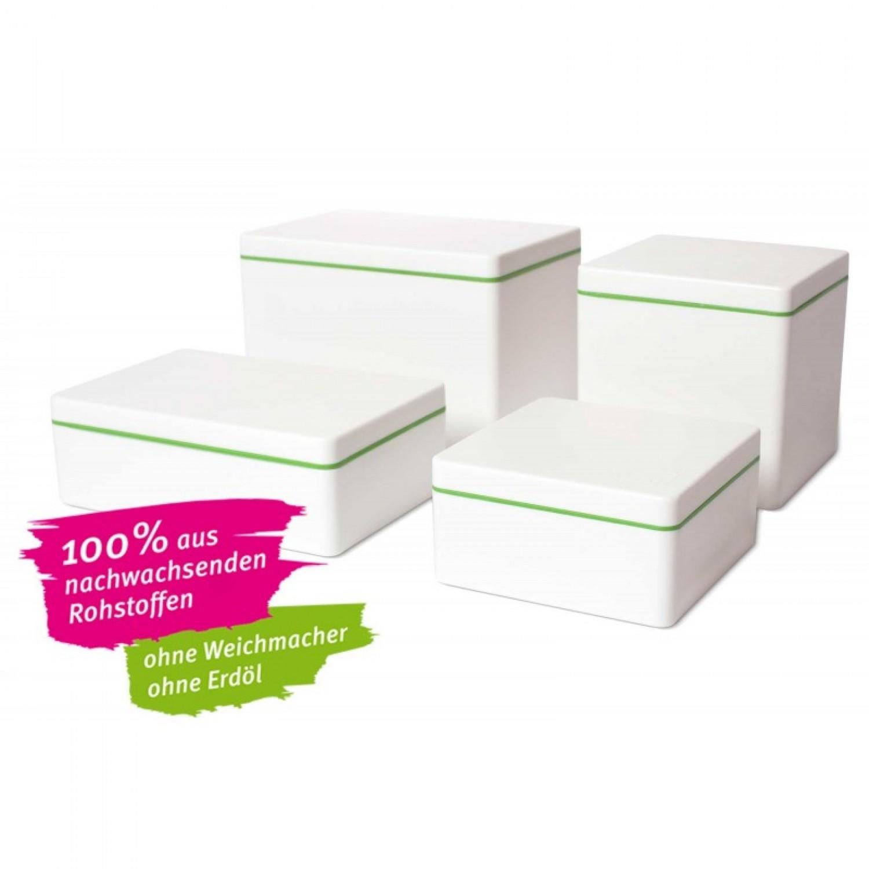 Eco food storage box of bioplastic 600 ml