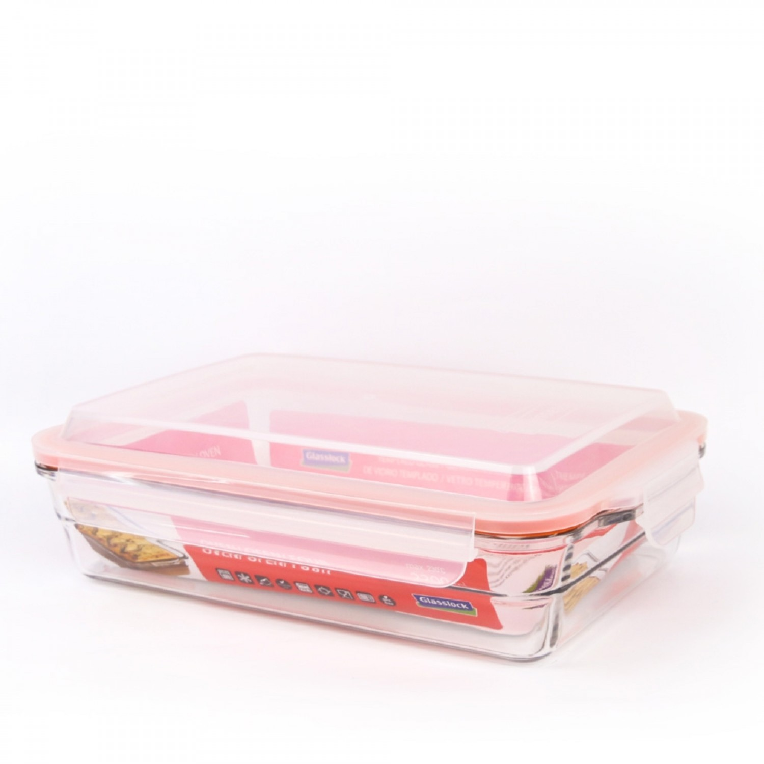 Glasslock Oven Rectangular Baking Dish and Food Container