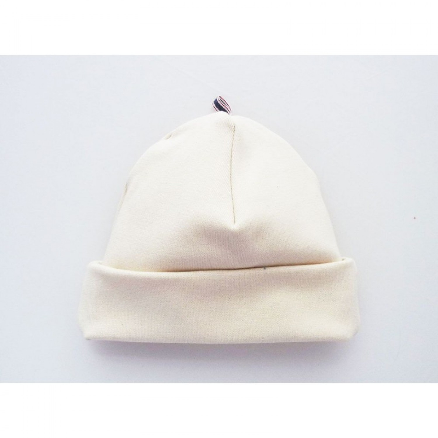 Baby Organic Cotton Natural Beanie Hat Cap | Ulalue