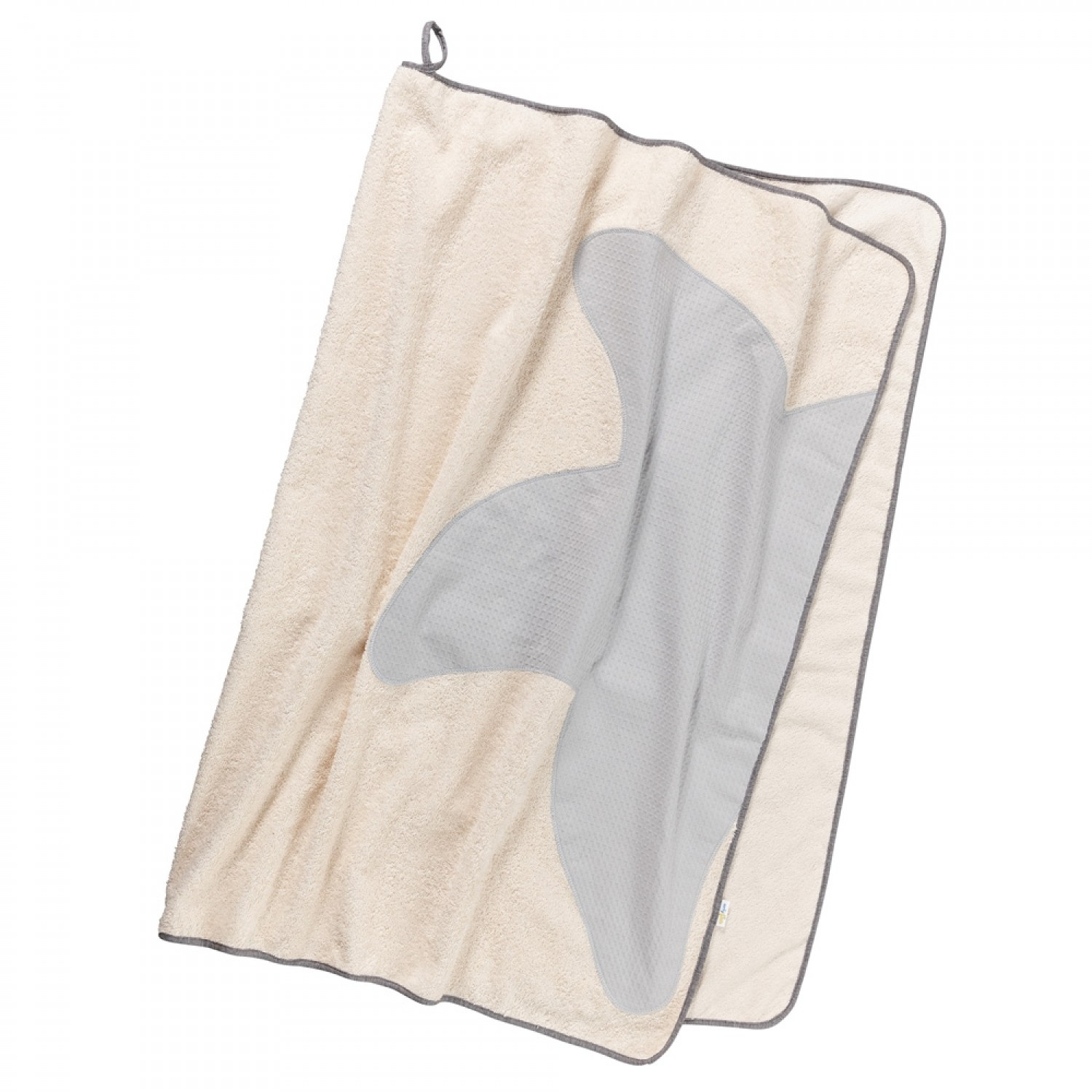 Bath Towel Classic Natural made of organic cotton | early fish