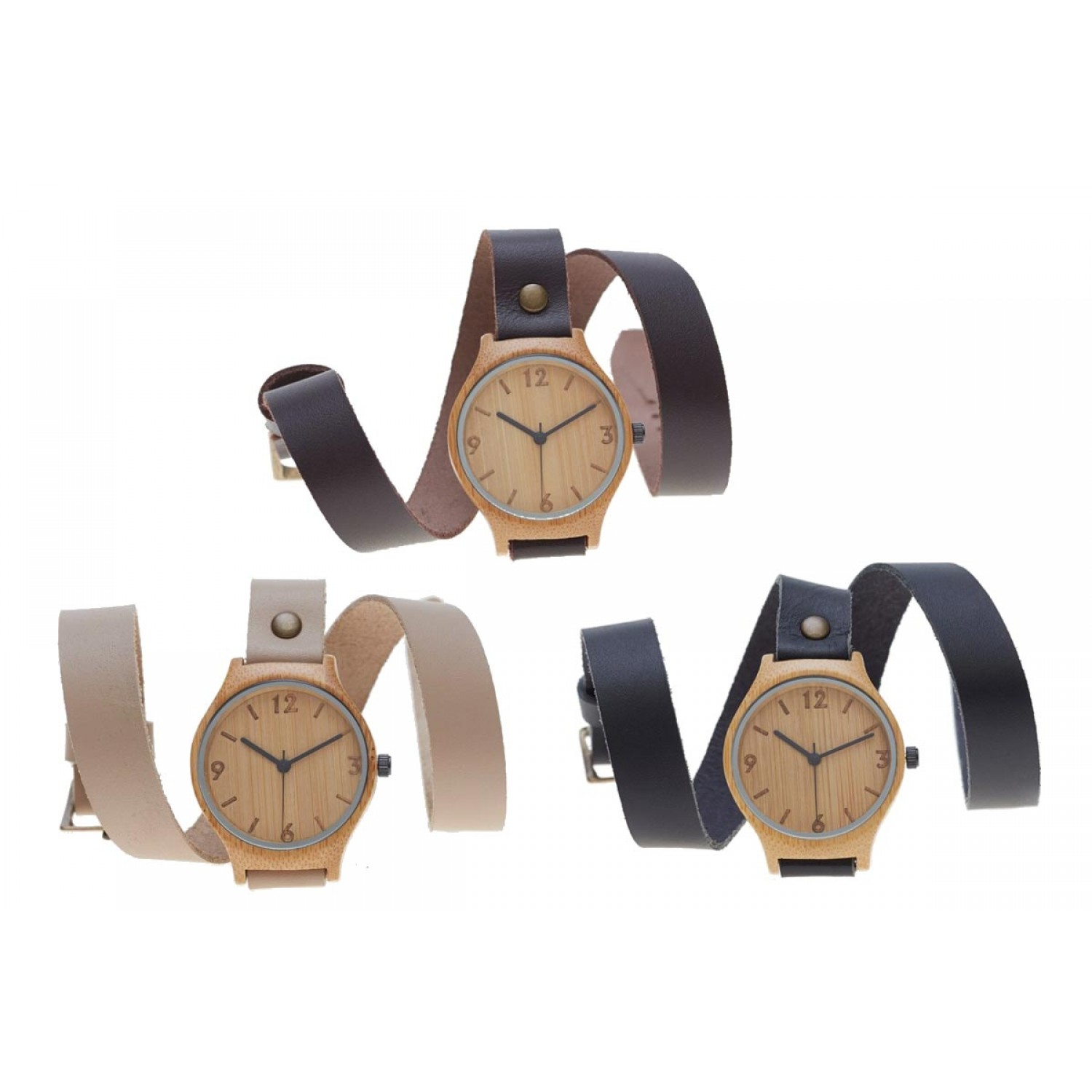 Bamboo Watch New Wrap Around Strap | Bamboo Revolution