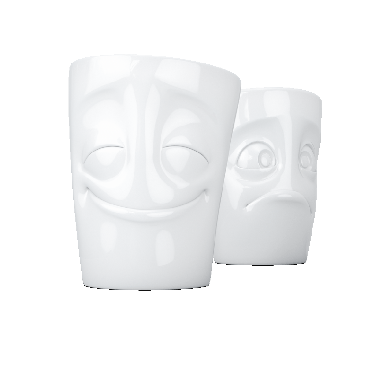 Porcelain Mug Set No. 2 Cheery & Baffled, white | 58 Products