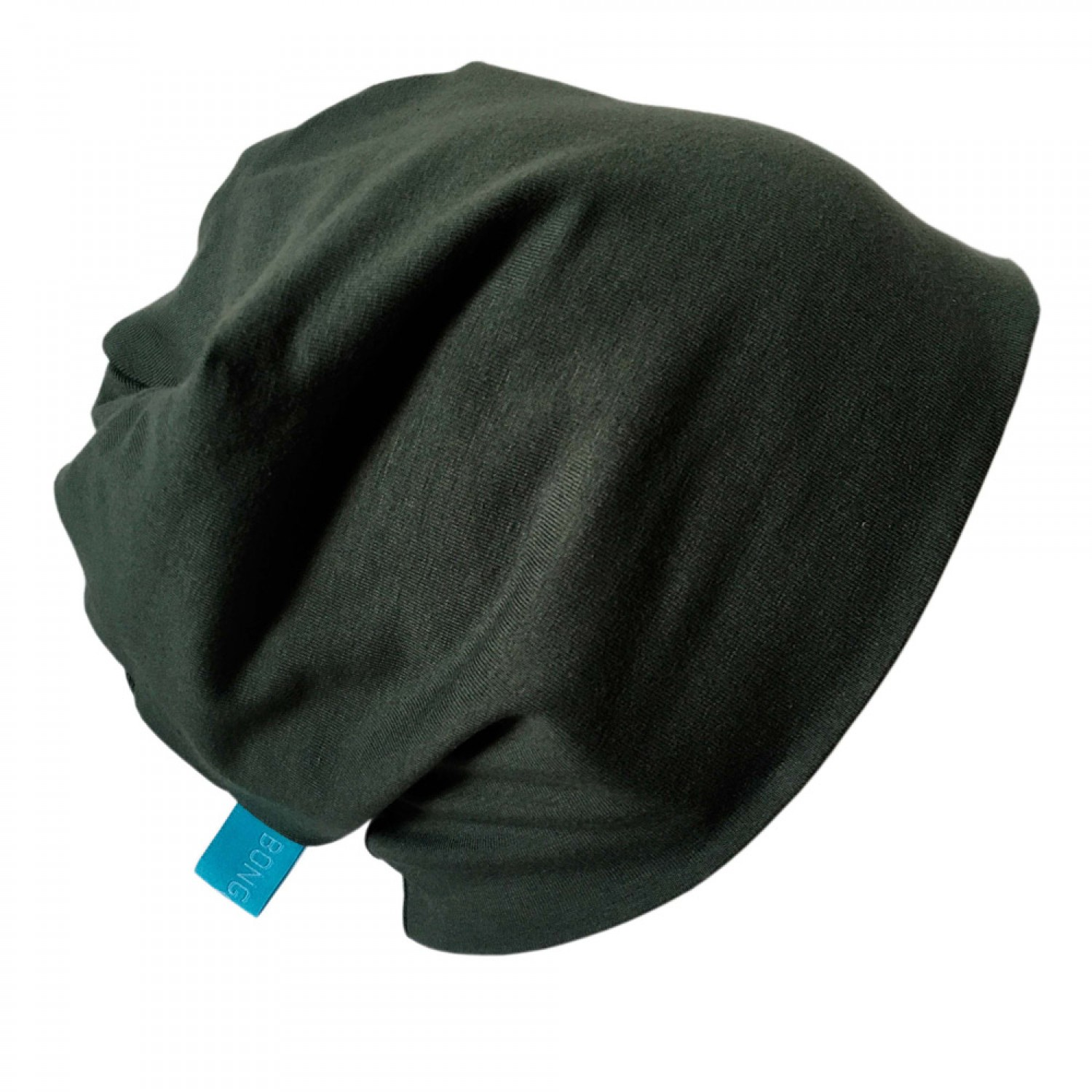 "Organic Cotton Cap ""Line""  in Fir Green 