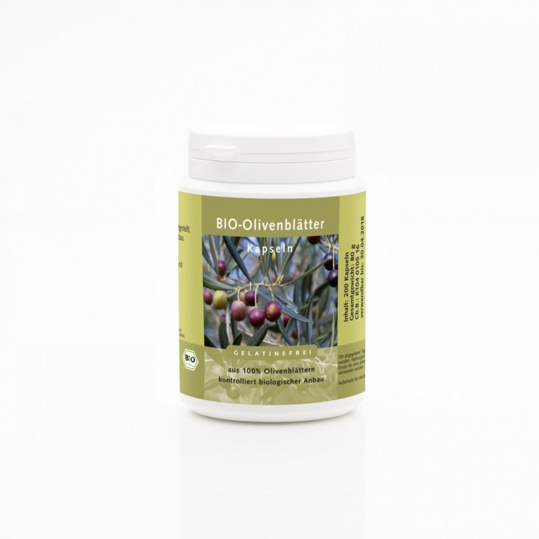 Organic Olive Leaf Capsules | Weltecke