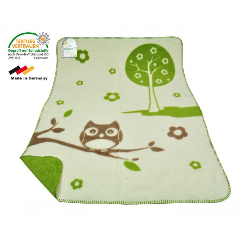 Organic Cotton Baby Blanket - ASMi Einstein - 75x100 cm