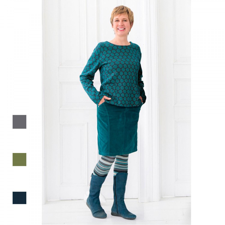 Organic Cotton Velvet Skirt in different colours | bloomers