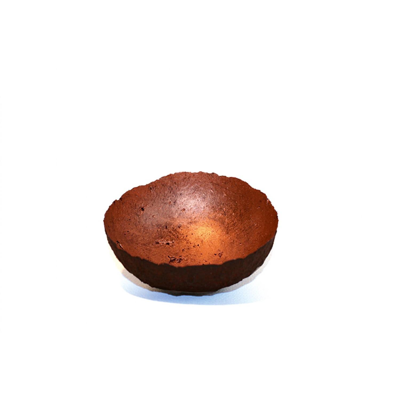 Decorative Bowl in Plum/Copper | Sundara Paper Art