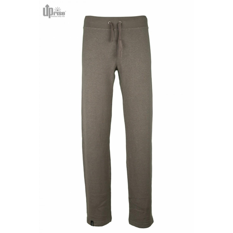 Grey Chilly Sweatpants of Hemp & Organic Cotton   Up-rise
