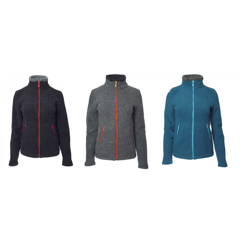 Women Fleece Jacket Aspen from Organic Wool | Reiff