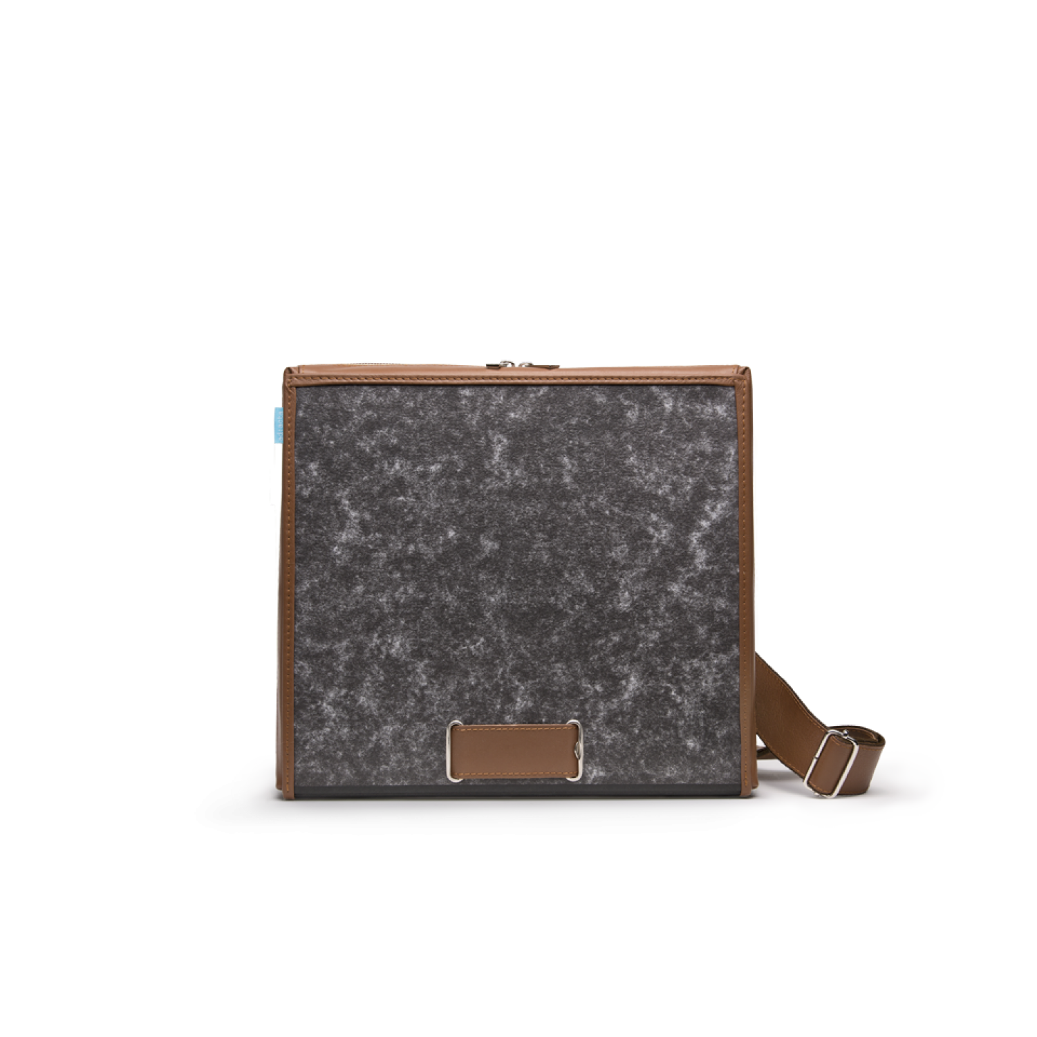 Upcycled brown Laptop Bag & Leather Briefcase | ad:acta