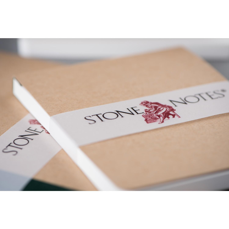 StoneNotes® – Notebook Landscape format 3part set