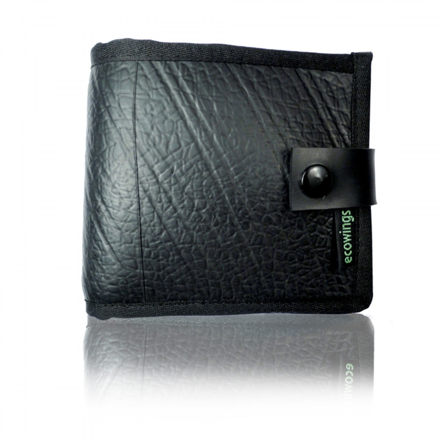 Men's Wallet 'Black Buck' recycled inner tube | Ecowings