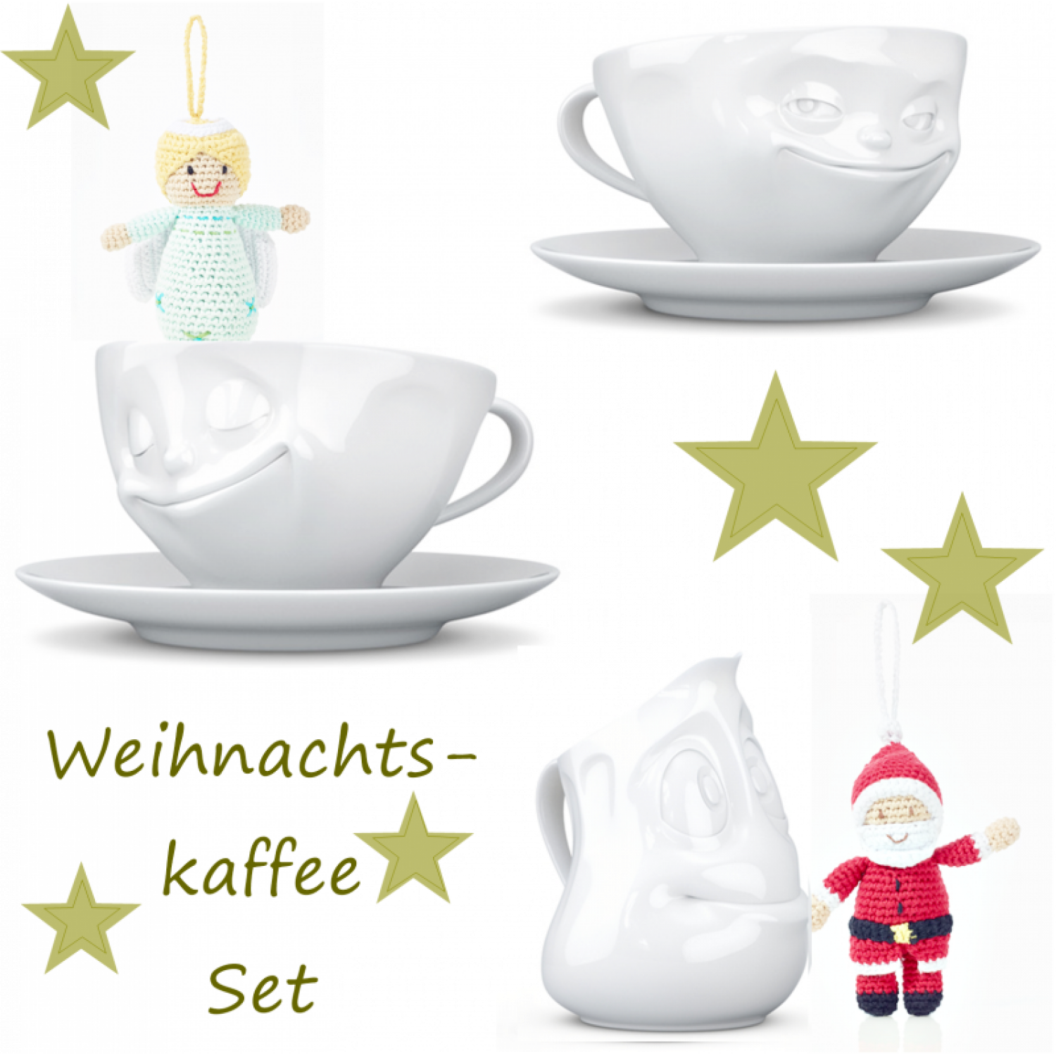 Fiftyeight Products Kaffeeset – Weihnachtsset