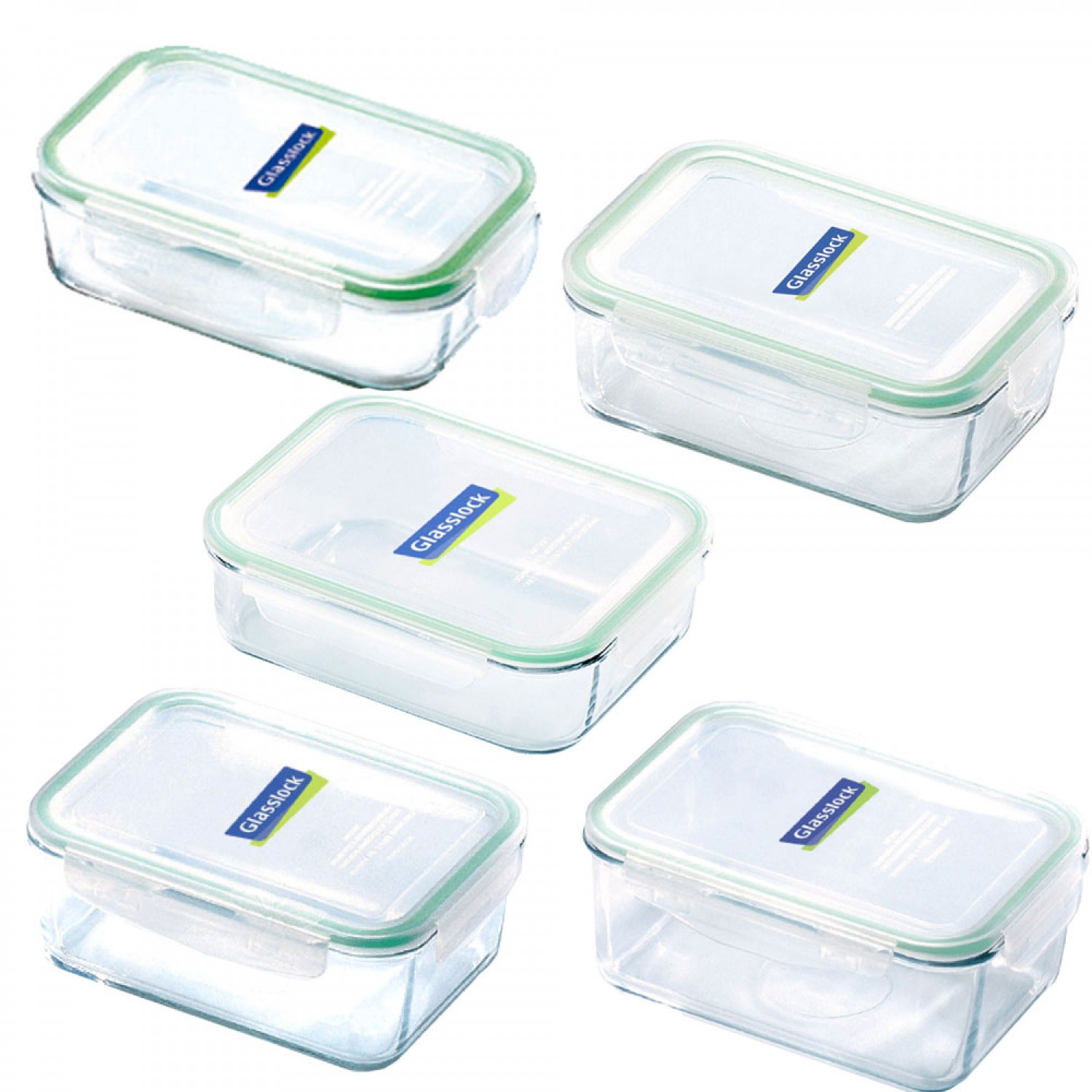 Glasslock Microwave & Food Container rectangular