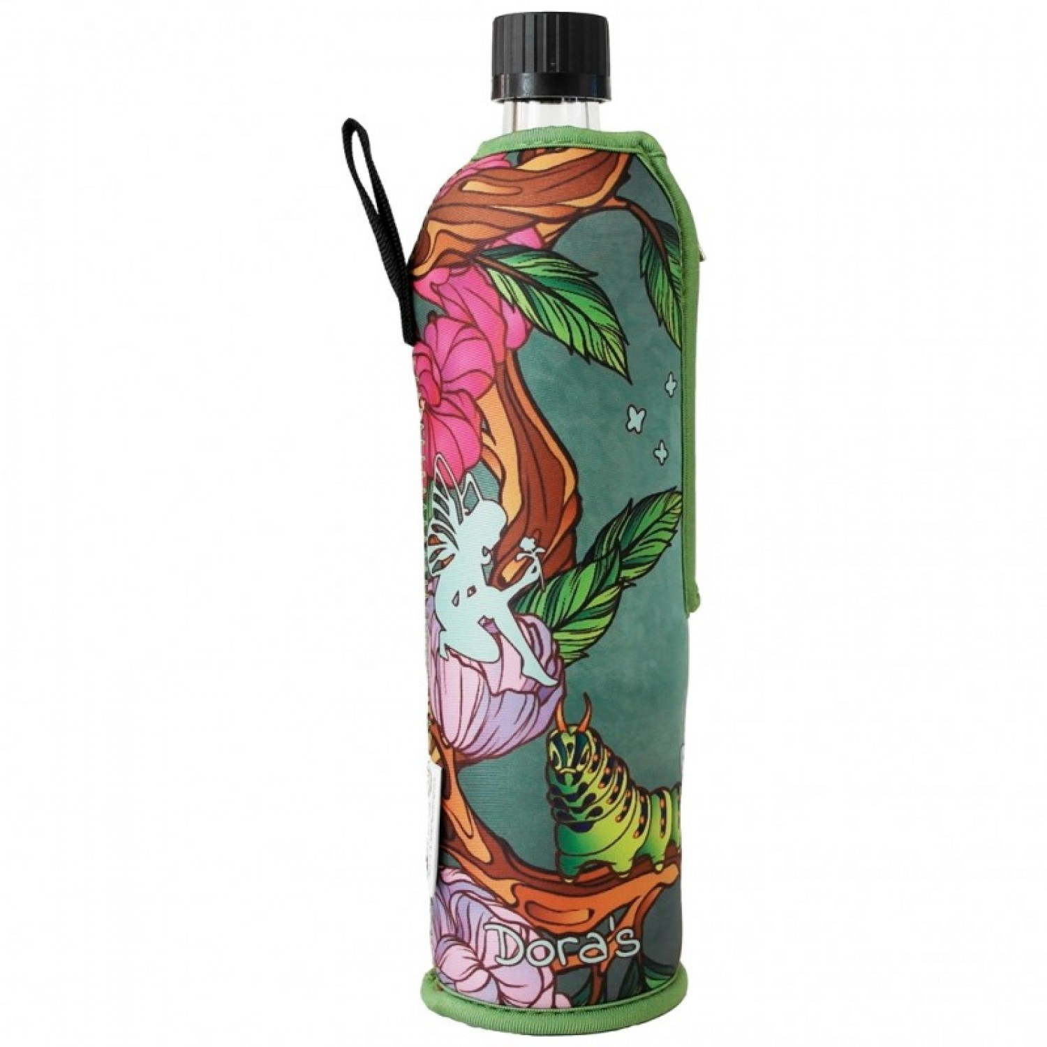 Special Edition Dora's Glass Bottle - Neoprene Sleeve Fairy