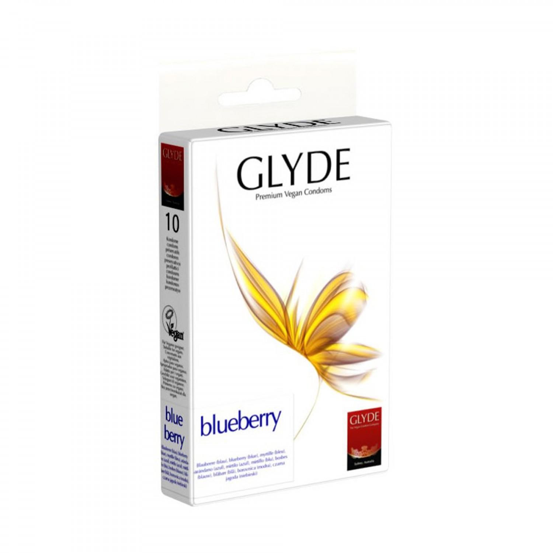 Glyde Blueberry Premium Vegan Condoms