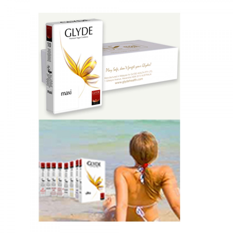 Glyde Maxi Premium Vegan Condoms